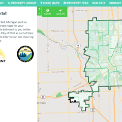 """Who owns that house down the street?  """"Flint Property Portal"""" goes live with answers"""