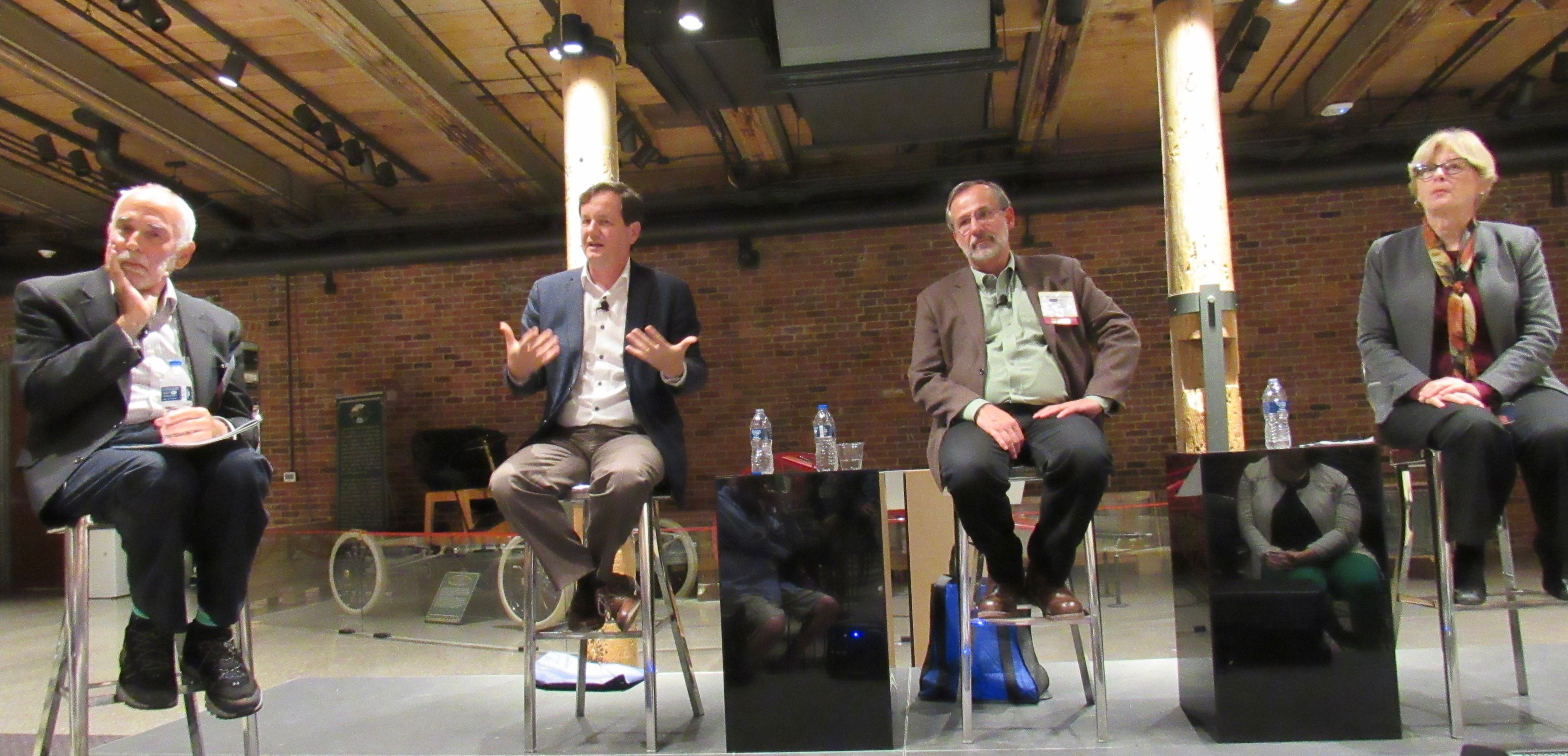 Gas-burning cars and trucks will be left behind, futurists of SEJ panel predict at Factory One