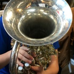 Village Life:  85 tubas and a corny sing-a-long one secret to holiday cheer