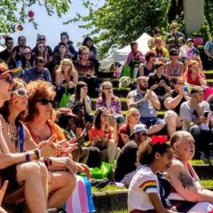 Thousands gather at Flint's Ninth Annual Pride Festival
