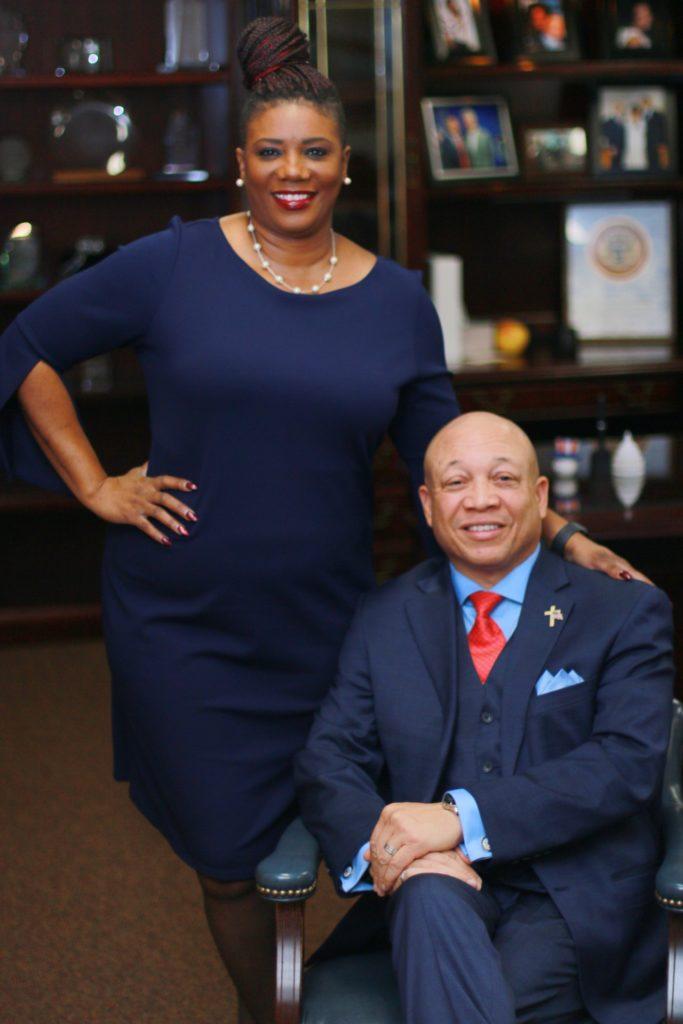 Cynthia and Mayor Sheldon Neeley (Photo provided by the Neeleys)
