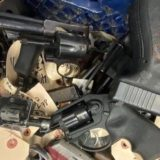"""""""No longer will the City of Flint be an arms dealer"""" – Mayor Neeley; 384 guns destroyed today"""