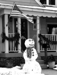 Cover: Flint snowman