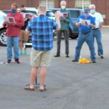 Harmonious voices rise from the parking lot: local choir meets to safely socialize and sing