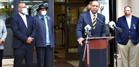 """""""This will not be tolerated,"""" Pastor Chris Martin, State Sen. Ananich and other activists declare about GOP voter suppression moves;  protest set for noon Tuesday"""