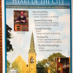 """""""Music in the Heart of the City"""" returns to  St. Paul's starting Sept. 27"""